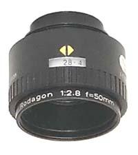 Rodenstock Rodagon 50mm f2.8 Enlarging Lens for 35mm Negatives - Used