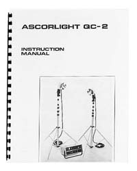 Ascorlight QC-2 Flash System Instruction Manual