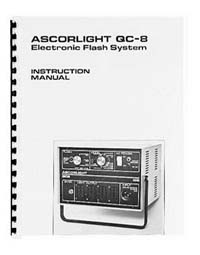 Ascorlight QC-8 Flash System Instruction Manual