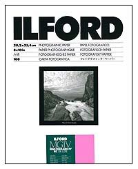 Ilford Multigrade IV RC Paper - 8x10 Glossy, 100 sheets