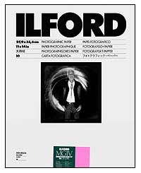 Ilford Multigrade IV RC Paper - 11x14 Glossy, 10 sheets