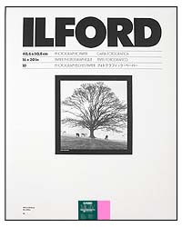 Ilford Multigrade IV RC Paper - 16x20 Glossy, 10 sheets