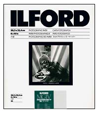 Ilford Multigrade IV RC Paper - 8x10 Pearl, 25 sheets