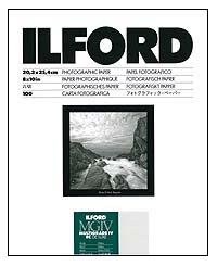 Ilford Multigrade IV RC Paper - 8x10 Pearl, 100 sheets
