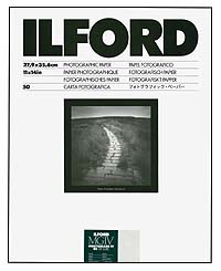 Ilford Multigrade IV RC Paper - 11x14 Pearl, 50 sheets