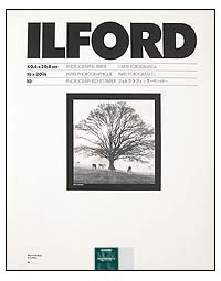 Ilford Multigrade IV RC Paper - 16x20 Pearl, 10 sheets