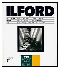 Ilford Multigrade IV RC Paper - 8x10 Satin, 25 sheets