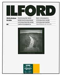 Ilford Multigrade IV RC Paper - 11x14 Satin, 50 sheets