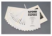 Ilford Paper Samples Swatch Book