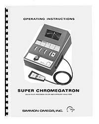 Omega Super Chromegatron Color Analyzer Instruction Manual