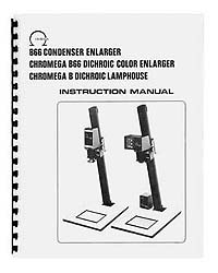 Omega B-66 / B66 Enlarger Instruction Manual & parts list
