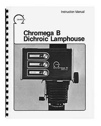 Omega Chromega B Dichroic Colorhead Instruction Manual
