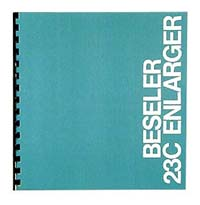Beseler 23C Series II Enlarger Instruction Manual
