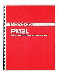 Beseler PM2L Color Analyzer Instruction Manual