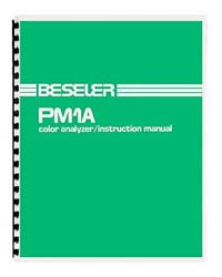 Beseler PM1A Color Analyzer Instruction Manual