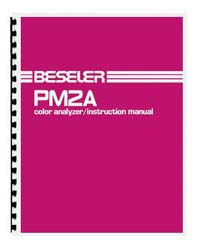 Beseler PM2A Color Analyzer Instruction Manual