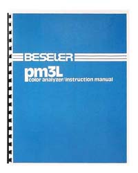 Beseler PM3L Color Analyzer Instruction Manual