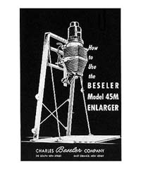 Beseler 45M Enlarger Instruction Manual