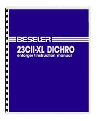 Beseler 23CII-XL Dichro Enlarger Instruction Manual