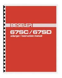 Beseler 67SC-XL & 67SD-XL Enlarger Instruction Manual