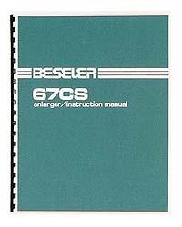 Beseler 67CS2-XL Condenser Enlarger Instruction Manual