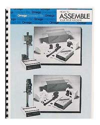 Omega Concept Six Enlarger Instruction Manual