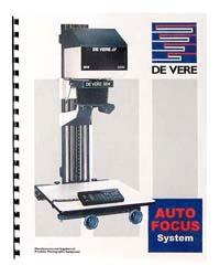De Vere / DeVere AutoFocus System Manual
