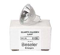 Beseler # 8108 250W 82V Quartz-Halogen Enlarger Lamp