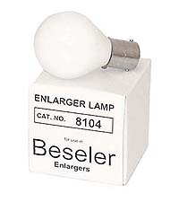 Beseler # 8104 PH111A 75W 120V Condenser Enlarger Lamp