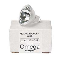 Omega 471-043 75W 27V Quartz-Halogen Enlarger Lamp