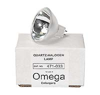 Omega #471-033 150W 21V Quartz-Halogen Enlarger Lamp