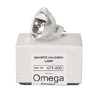 Omega 471-400 85W 82V Quartz-Halogen Enlarger Lamp