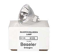 Beseler # 8105 200W 24V Quartz-Halogen Enlarger Lamp