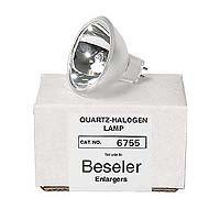 Beseler # 6755 80W 30V Quartz-Halogen Enlarger Lamp