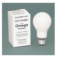 Omega #471-003 PH212 150W 120V Condenser Enlarger Lamp