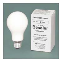 Beseler # 8100 PH212 150W 120V Condenser Enlarger Lamp