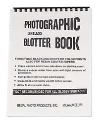 """Regal 9""""x12"""" Blotter Book for Photo Print Drying"""