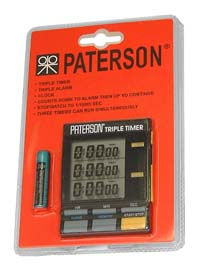 Paterson 3-channel LCD Triple Timer