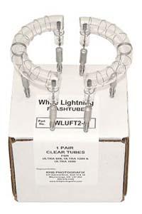 Flashtubes for White Lightning Ultra - non-UV, banana jack leads