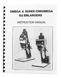 Omega D2V / D-2 Dichroic Enlarger Instruction Manual