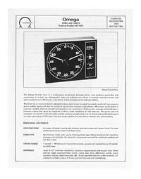 Omega #461-030 Pro-Lab Timer Instruction Manual