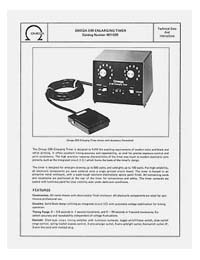 Omega #461-020 E99 Enlarging Timer Instruction Manual