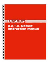 Beseler D.A.T.A. Module Instruction Manual