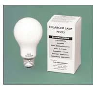 PH213 PH-213 250W 120V Opal Enlarging / Photoflood Lamp