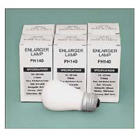 PH140 75W 120V Condenser Enlarger Lamp - 6 pack