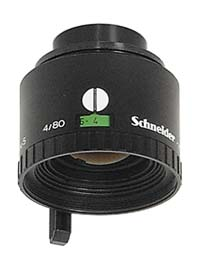 Schneider Componon-S 80mm f4.0 Enlarging Lens for 6x6cm Negatives - Used