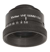 Vivitar VHE 100mm f5.6 Enlarging Lens for 6x9cm Negatives - Used