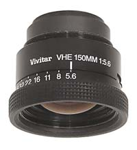 "Vivitar VHE 150mm f5.6 Enlarging Lens for 4""x 5"" Negatives - Used"