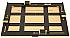LPL 11x14 4-Blade Adjustable Darkroom Easel - Used